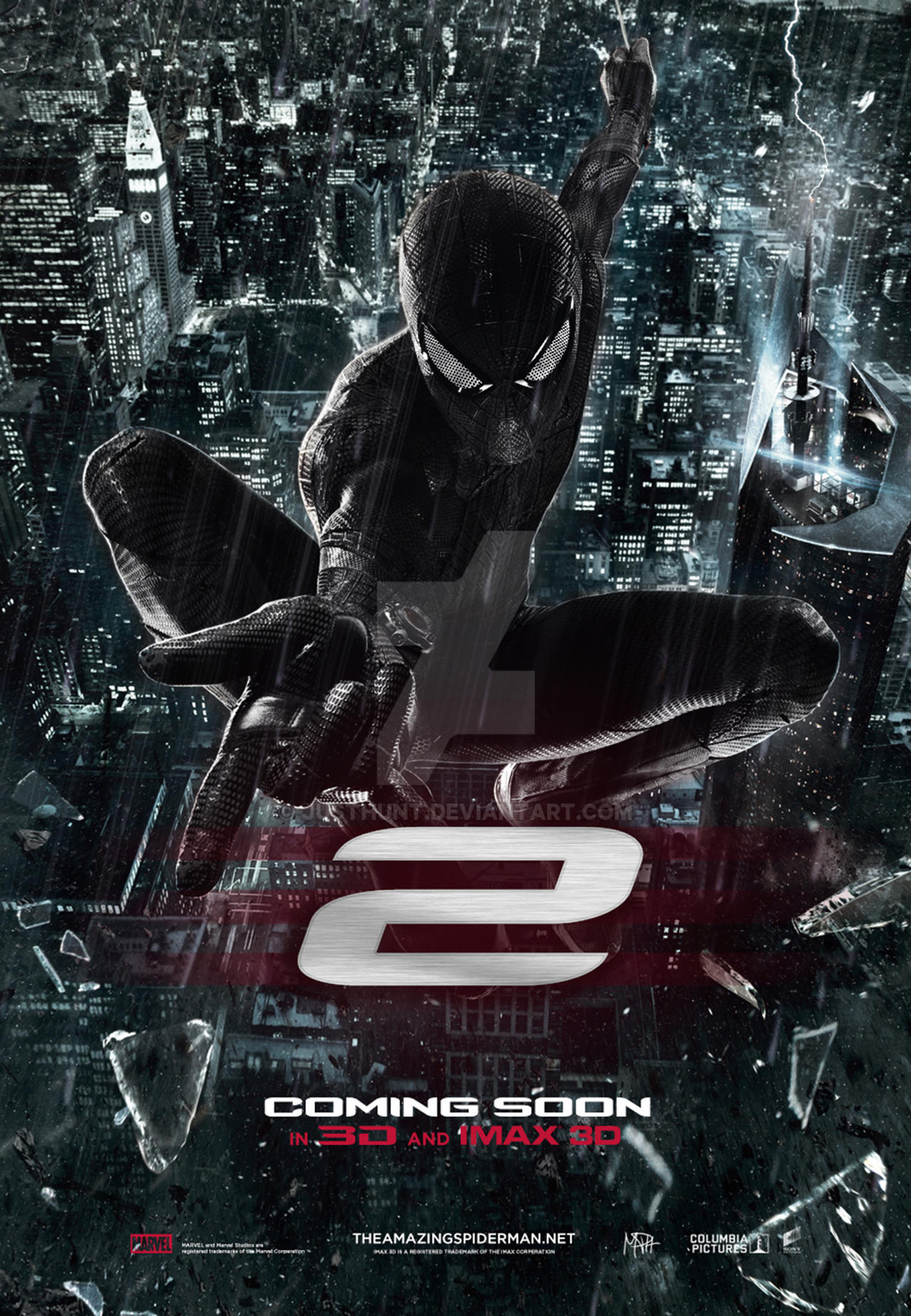 The Amazing Spider Man 2 Movie Poster By Justhunt On