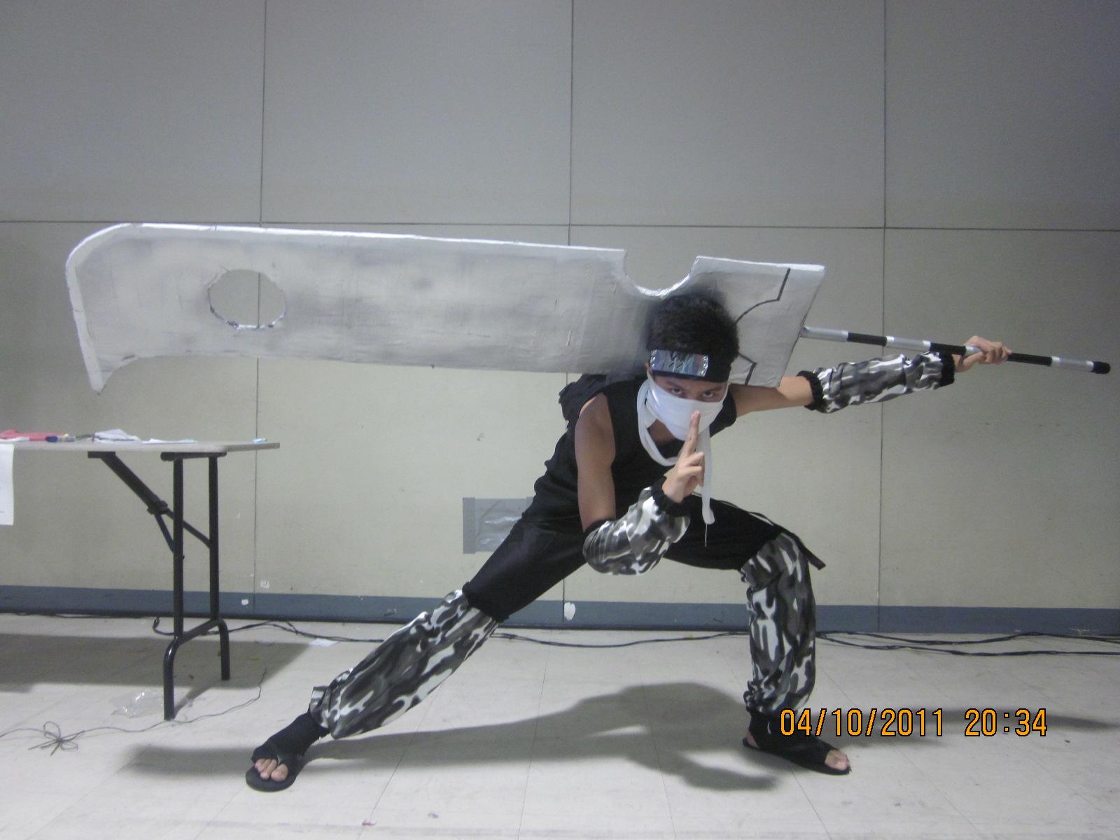 Zabuza Momochi Cosplay by Josiah-kun on DeviantArt Zabuza Sword Cosplay