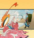 okami+mononoke - sea and sky