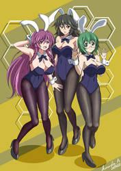 Bunny sisters by Kuroda-Ariake