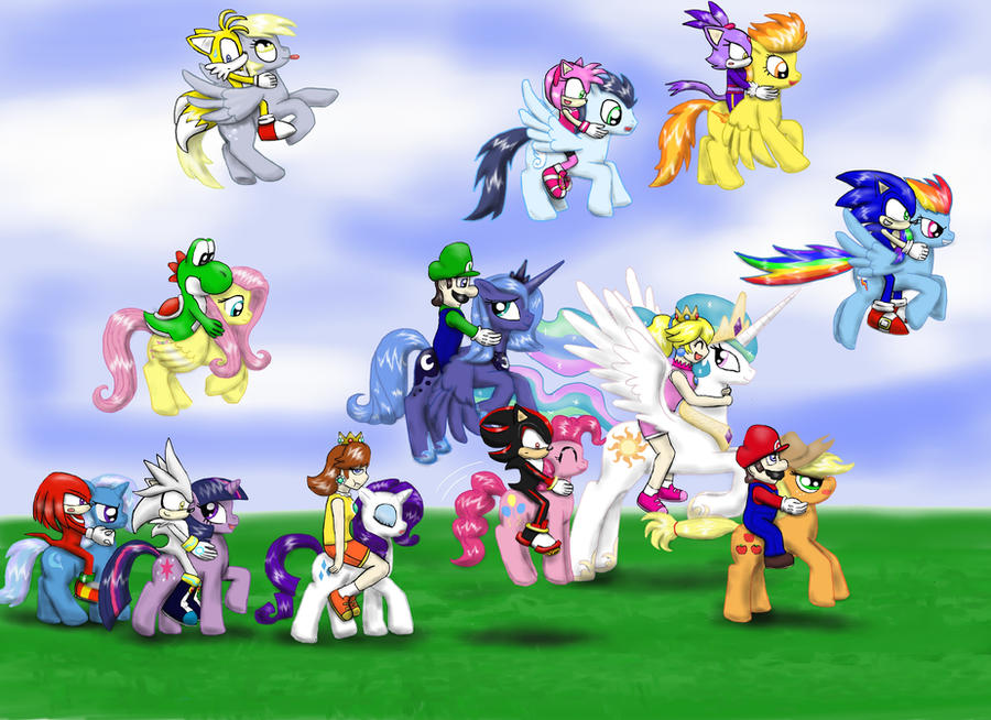 pony racing by cloba94 on deviantart