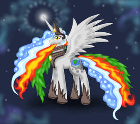 Queen Gaia pony by Cloba94