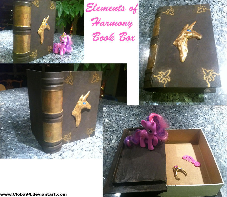 Elements of Harmony Book Box by Cloba94