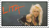 Lita Ford Stamp by LadySpace1978