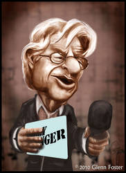 Jerry Springer Caricature by MadPoint25