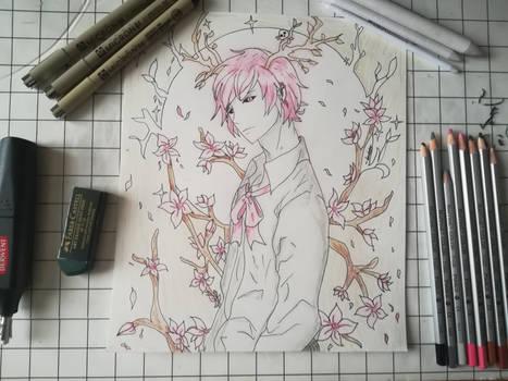 The cherry blossom demon