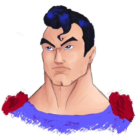 SuperMan by BoFuey