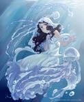 Jellyfish Princess by Dreamsraven