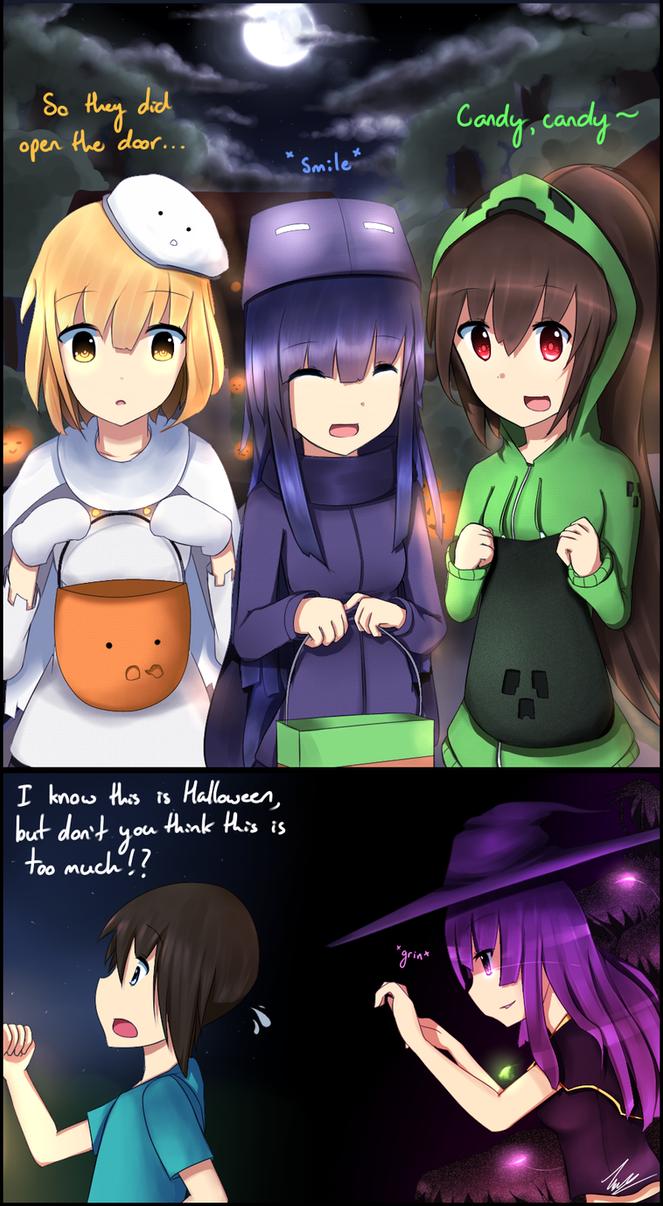 Mobgirls Halloween 2012 by Vikko2