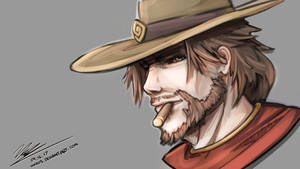 McCree Doodle by HOAIartworks