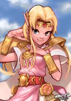 Zelda by HOAIartworks