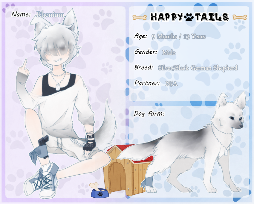 || Happy Tails || Rhenium by kanniki