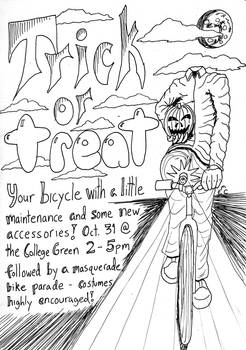 Trick or Treat your Bicycle 1