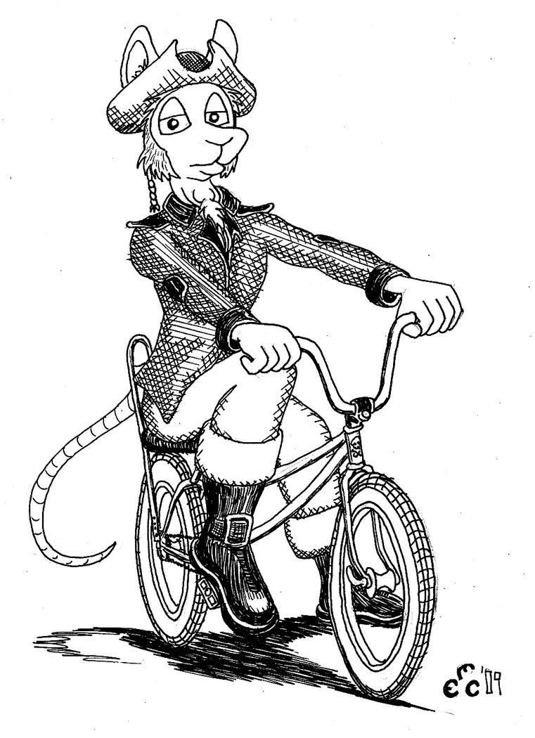 A Bike Pirate by DJ-Erock