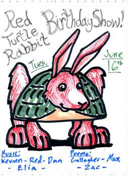 Red Turtle Rabbit 1