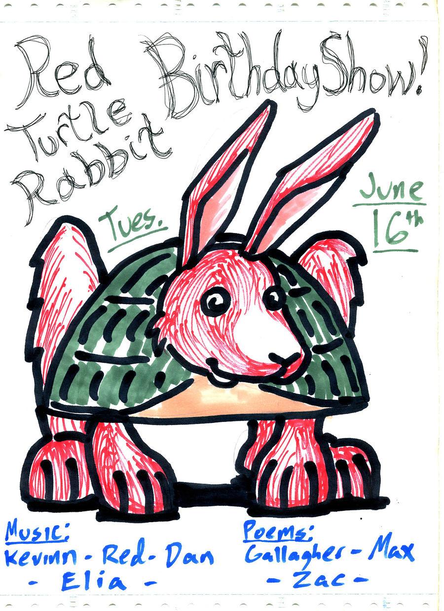 Red Turtle Rabbit 1 by DJ-Erock