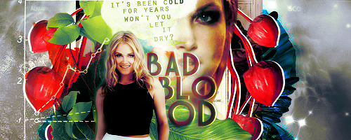 01   Bad Blood Signature by itsmorphine