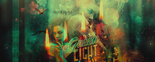 23 | Green Light Signature by itsmorphine