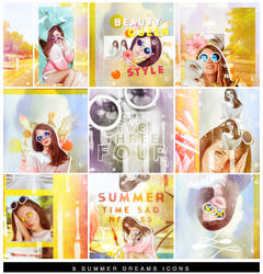 56 | Summer Dreams Icons by itsmorphine