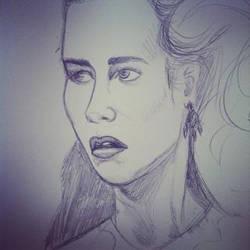 Sarah sketch wip