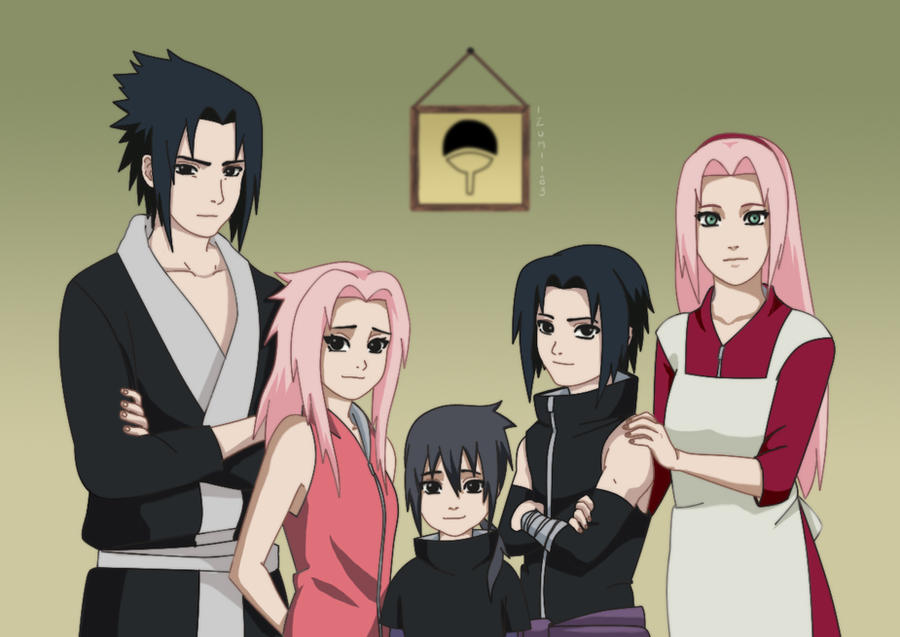 Uchiha family by Izumii89