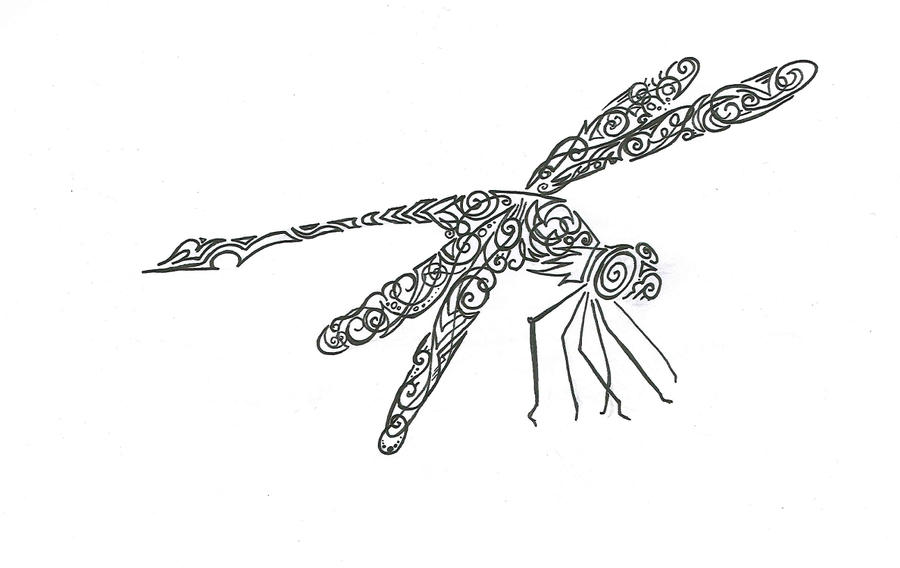 dragonfly design by wolfds