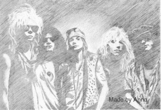 Guns n' Roses by nosslo