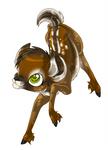 Prancing Deer Fawn