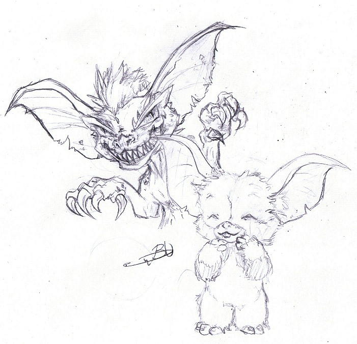 Gizmo gremlins coloring pages sketch coloring page - Sketch Gizmo Pumpkin Coloring Pages