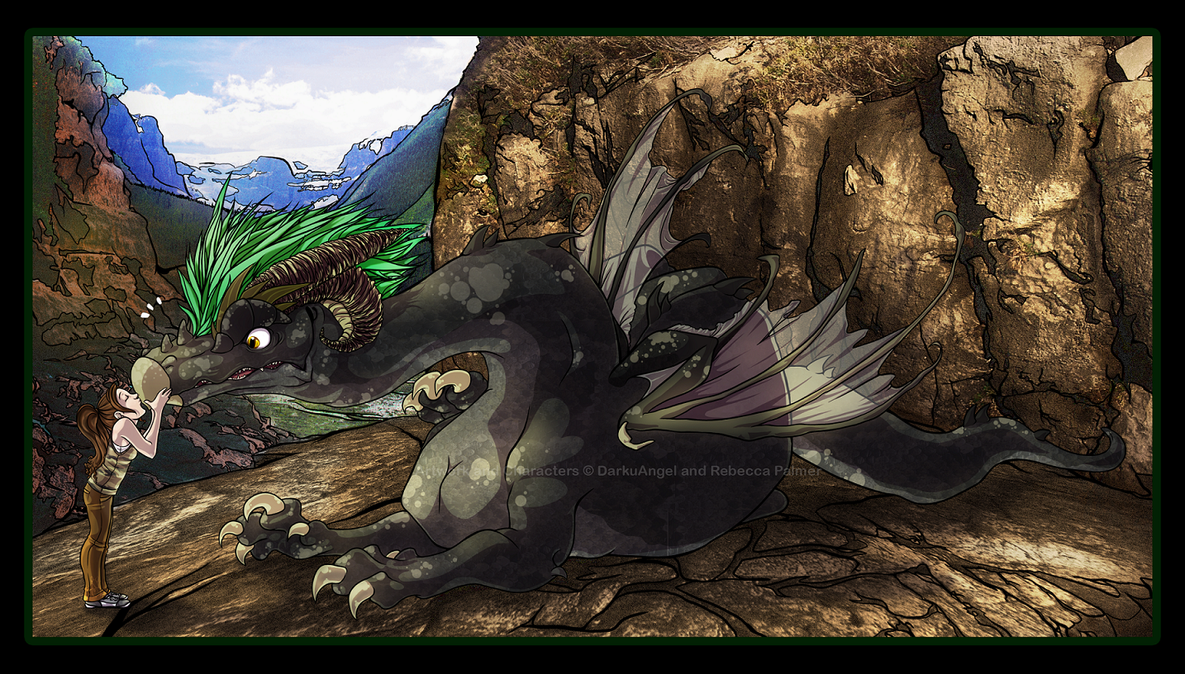 Dragon's Kiss Part 1 by Daffupanda