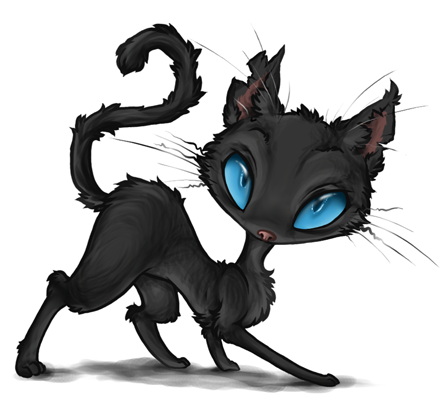 Coraline - The Cat by Daffupanda