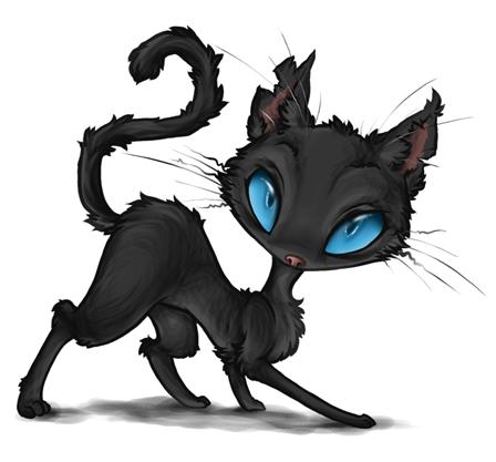 Coraline - The Cat by Daffupanda on DeviantArt