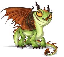 HTTYD - Terrible Terror Dragon by Daffupanda