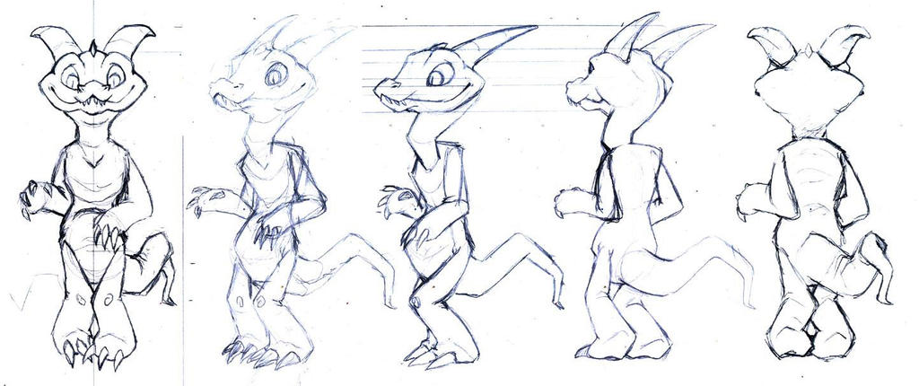 Character Design In Animation : Gabrian character design animation by daffupanda on