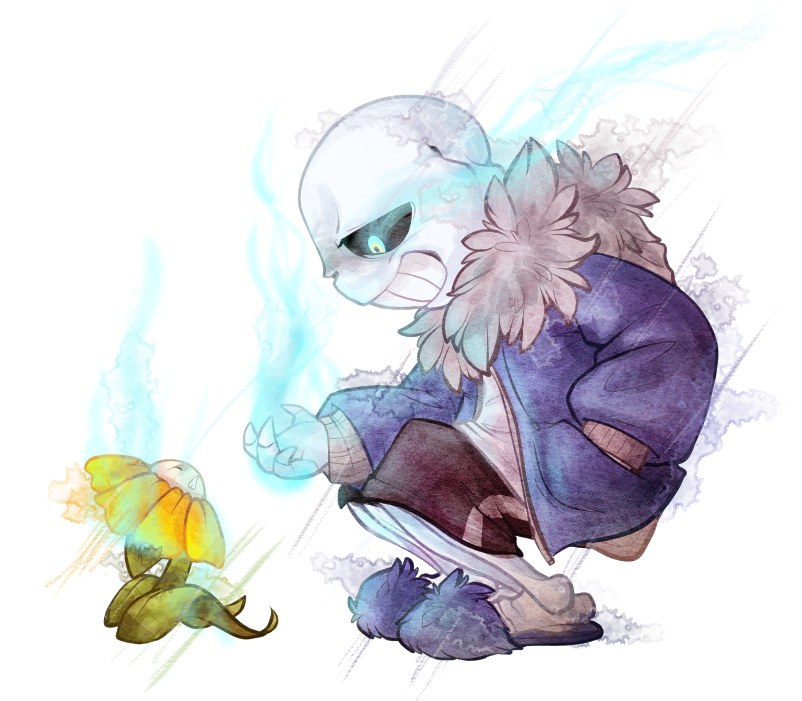 Undertale - You and I... we're gonna have a talk by Daffupanda