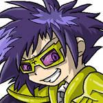 Digimon Kaiser - Demented grin