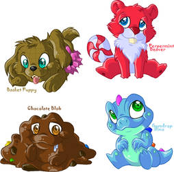 Candy Land Critters