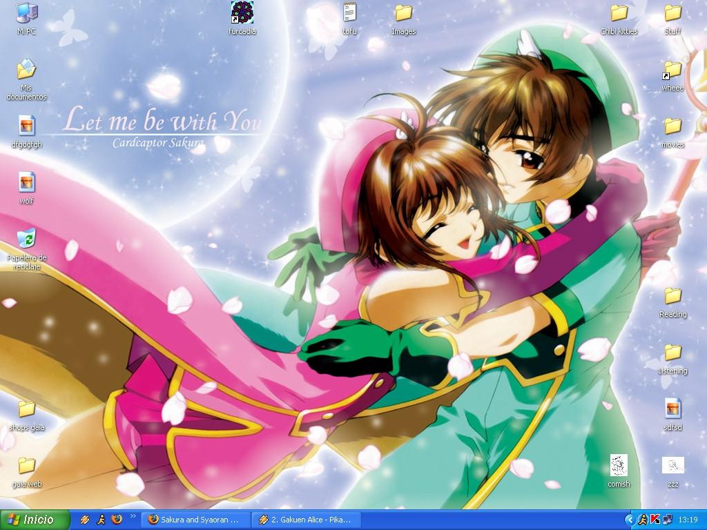 Sakura syaoran desktop again by daffupanda on deviantart - Sakura desktop ...