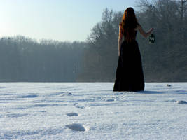 Martyna in winter