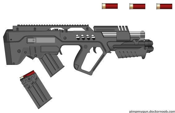 Semi-Auto shotgun by killa52 on DeviantArt M1216