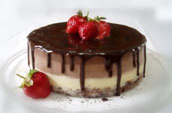 Triple Chocolate Cheesecake by meechan