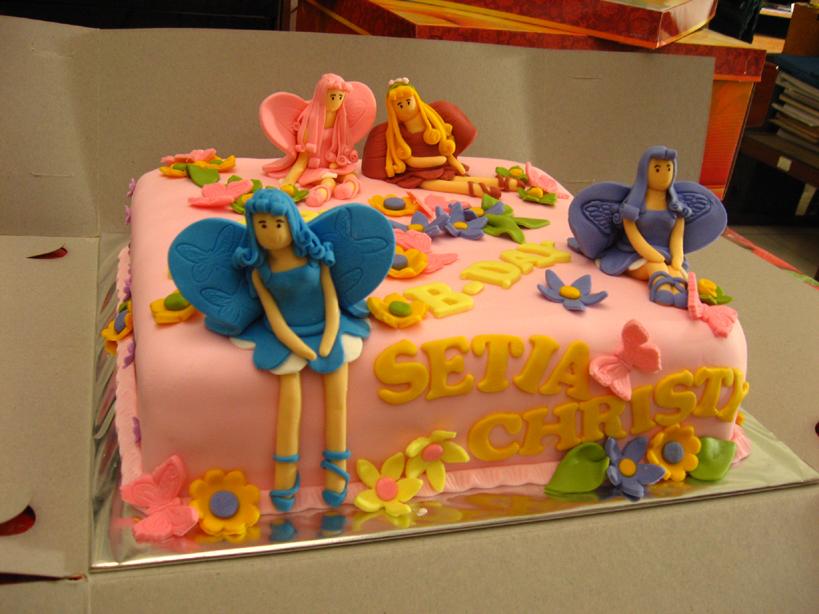 Mariposa B'day Cake by meechan