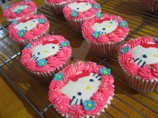 Hello Kitty Cupcakes 2 By Meechan On Deviantart