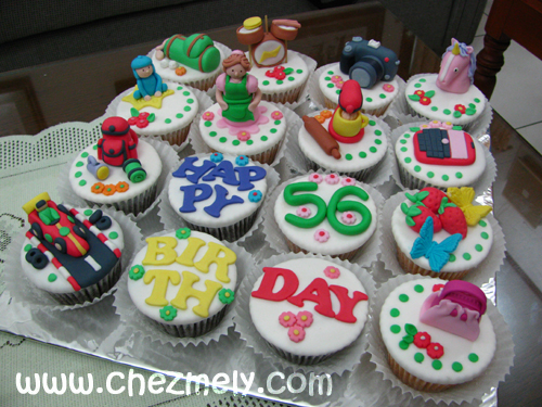 Grandmas Birthday Cupcakes by meechan on DeviantArt