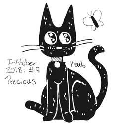 Inktober 2018, Day 9: Precious by Kate88554