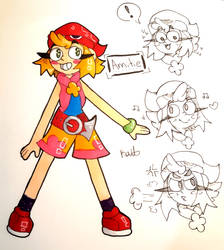 Amitie Doodles (Puyo Puyo) by Kate88554