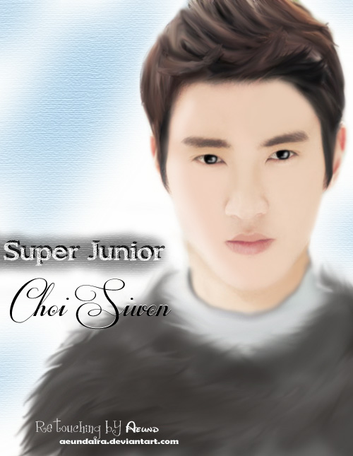 Fan Art] Super Junior Choi Siwon by aeundaira on DeviantArt