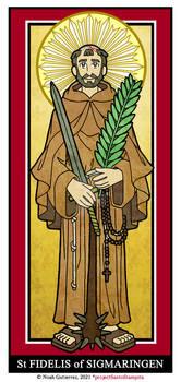 St Fidelis of Sigmaringen
