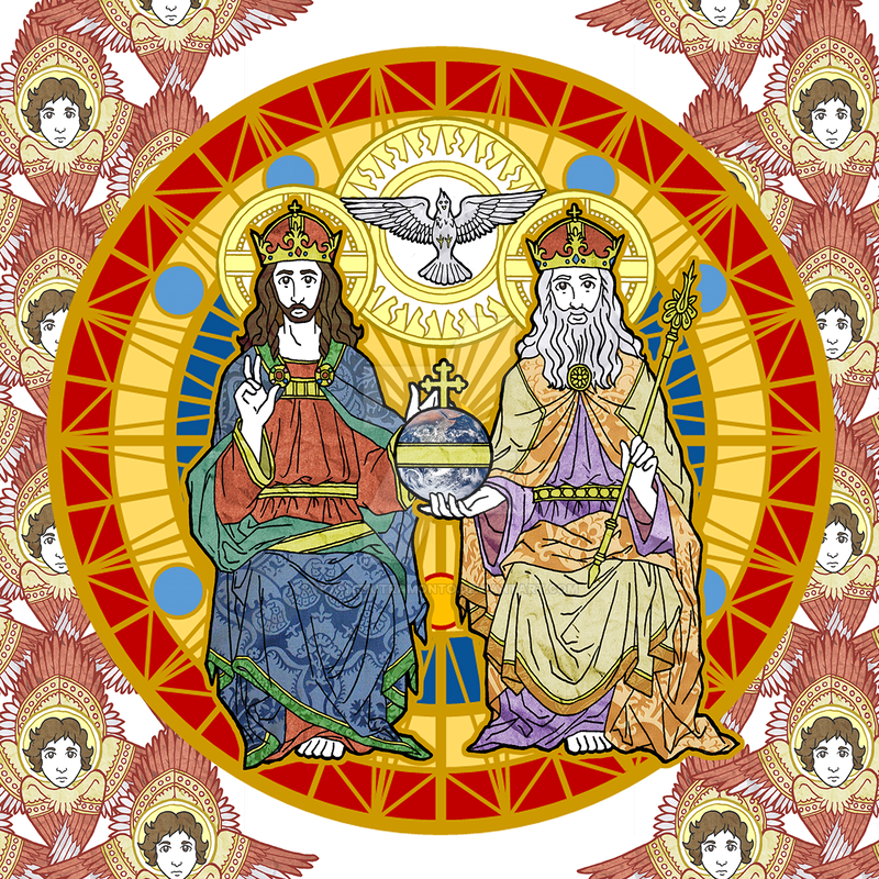 Most Holy Trinity Illustration by NowitzkiTramonto on DeviantArt