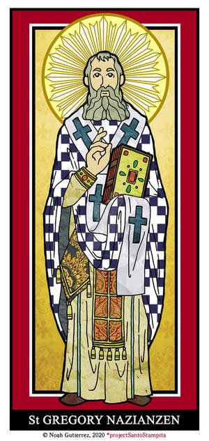 St Gregory Nazianzen